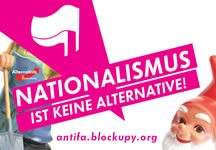 "Kampagne ""Nationalismus ist keine Alternative!"""