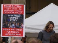 """die neuen Montagsdemos """"gegen FED und für den Frieden"""""""