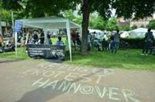 Refugee Protest Hannover