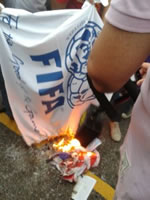 brasilien proteste wm