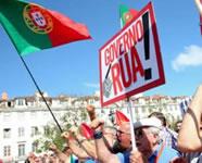 Tausende in Portugal auf der Straße