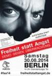 Freiheit statt Angst 2014: Stoppt den Überwachungswahn!