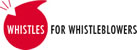 "Kampagne ""Whistles for Whistleblowers"""