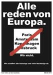 """""""Alle reden von Europa. Wir nicht. Wir schaffen alle Autozüge und viele Nachtzüge ab. DB"""""""
