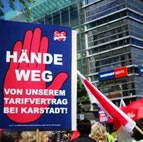 Karstadt: Hände weg von unserem Tarifvertrag (ver.di)