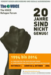 the Anniversary of the 20 years The VOICE Refugee Forum