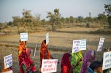 breite Bewegung für Landrechte in Indien