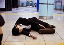 Immer noch in Japan: Zu Tode arbeiten.... Foto von Coal Miki/Flikr.