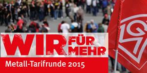 Metall-Tarifrunde 2015
