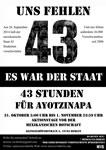 """""""Uns fehlen 43"""" - 43 Stunden für die verschwundenen Studenten von Ayotzinapa"""