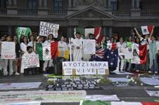 """""""nationale Brigade für die 43 Verschwundenen"""" in Mexiko"""