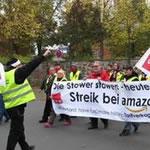 Streik bei Amazon - Foto Lisa Carstenson