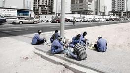 Streikende nepalesische Bauarbeiter in Katar sollen Abgeschoben werden