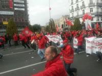 Belgien: Wütende Demonstrationen gegen Austeritätspolitik