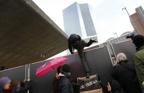 Blockupy 2014: EZB-Umzug