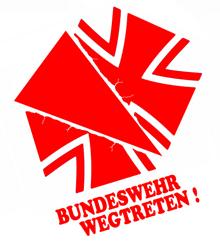 Bundeswehr wegtreten