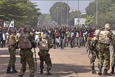beim Sturz Compaorés in Burkina Faso