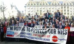 Streik im nationalen Gesundheitsdienst (NHS) – ein Streik auch um den NHS