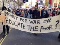 5000 StudentInnen in London gegen höhere Studiengebühren