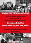 Solidarität mit dem Streik der GDL!