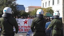 Griechenland: Polizeiterror gegen Studenten, wie 1973