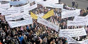 Generalstreik in Marokko am 29. Oktober 2014