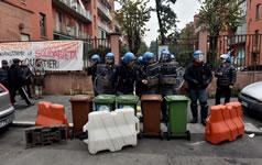 Widerstand gegen Massenräumungen in Mailand