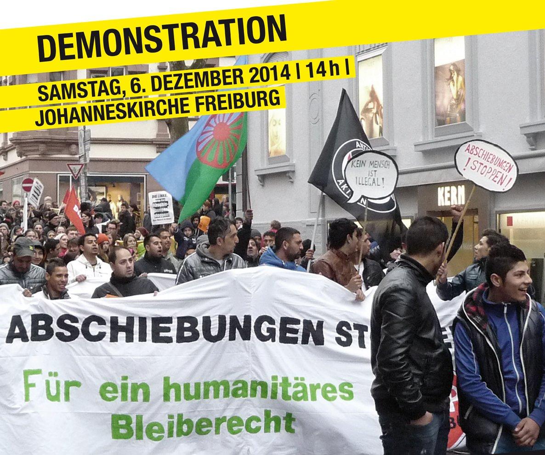 Freiburg: Demo gegen Abschiebungen