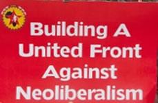 Metallgewerkschaft NUMSA, soziale Bewegungen und Linke: United Front in Südafrika