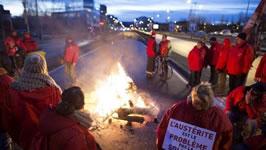 Brüssel, 8. Dezember: Die grösste Mobilisierung seit 20 Jahren