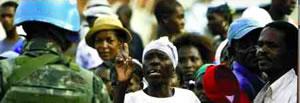 Massendemonstrationen gegen die haitianische Regierung
