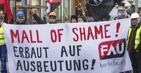 Mall of Shame – der Protest geht weiter