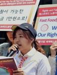 Südkoreanische Gewerkschafterin von McDonalds entlassen
