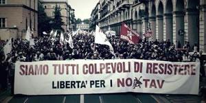 Proteste gegen TAV in Italien