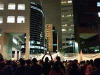 10.000 in Lima gegen das neue Arbeitsgesetz für Jugendliche