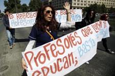 LehrerInnen streiken in ganz Chile