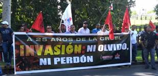 25 Jahre nach dem Einmarsch der USA in Panama: Gegen das Vergessen