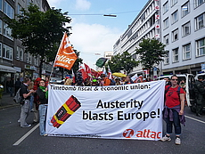 Attac:Austerity blasts Europe