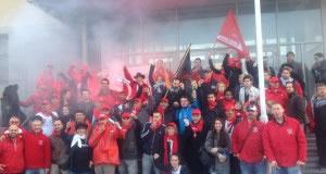 Generalstreik in Belgien