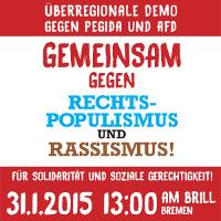 Bremen gegen Afd-Parteitag