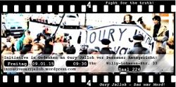 Initiative Oury Jalloh vor Gericht