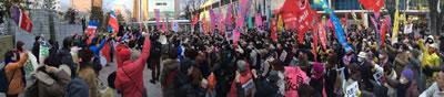 Vierter Jahrestag der Katastrophe von Fukushima: Aufruf zur Grossdemonstration