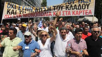 Die letzten Tage vor der Wahl in Griechenland
