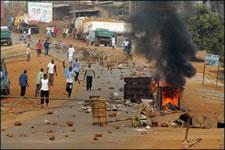 Generalstreik in Guinea