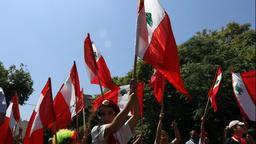 Massendemonstrationen gegen den Präsidenten Ende 2014 in Haiti
