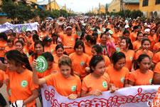 Näherinnen in Kambodscha: Protest gegen Hungerlöhne