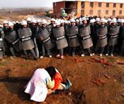 Landraub in China – stets auf Widerstand treffend