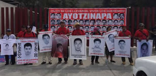 Der 26. Januar war in Mexiko nationaler Aktionstag für die Aufklärung über die 43 Verschwundenen