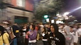 Demo gegen die mexikanische Bundespolizei