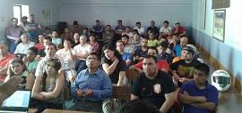Chile: Streikabstimmung der Betriebsgewerkschaft beim Verteilzentrum Centro de Distribución de Quilicura von Nestlé